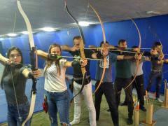 "Archery in Kiev - Shooting range ""Archer"". Archery Kiev (Obolon / T"