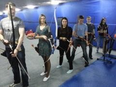 """Archery shooting """"Archer"""" archery — Kiev (Obolon, towers)"""