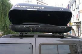 Автобагажники на дах, аеробокси Терадрайв