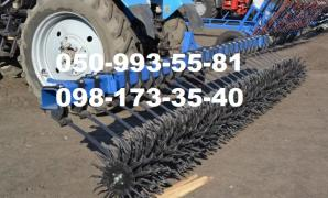 BMR-4.2 BR-6, BR-8 rotary hoe harrow, with transport device