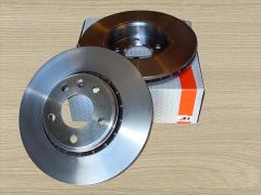 Brake disc, front for Renault Trafic / Opel Vivaro