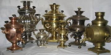 Buy ancient samovars Batashev