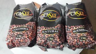Casfe Columbia Caspe 100% Arabica, Robusta coffee, cava Spain