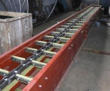 Conveyor belt, drag, chain conveyor, screw running