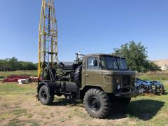 Drilling rig UGB 50 on the basis of GAZ-66